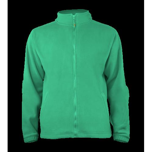 Pánská fleece J403 - Golf zelená