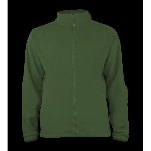 Pánská fleece J403 - Džungle zelená