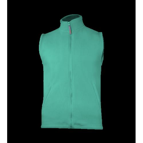 Fleecová unisex vesta - Lucite zelená