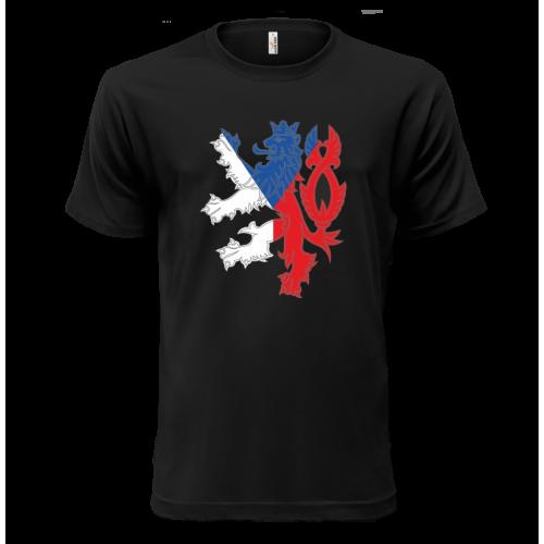 Národní tričko Lev Česká republika