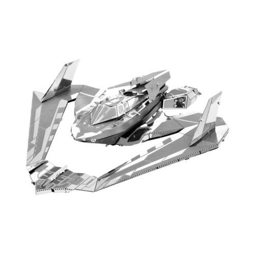 3D ocelová skládačka Batman Batwing 1989