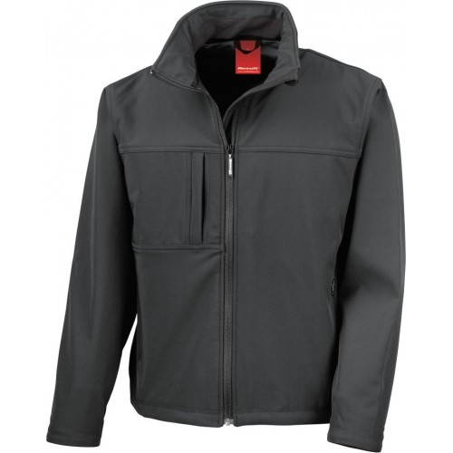 3 vrstvá dámská softshellová bunda FREE - Černá