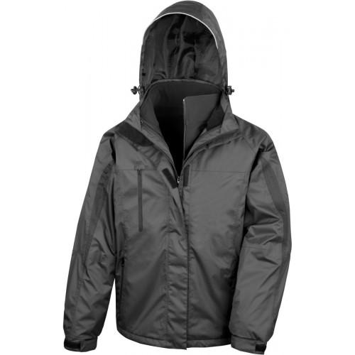Pánská bunda 3v1 - Černá