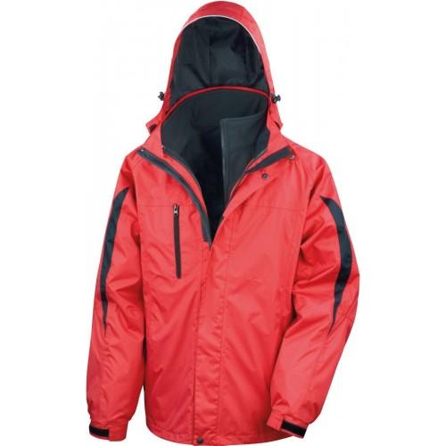 Pánská bunda 3v1 - Červená