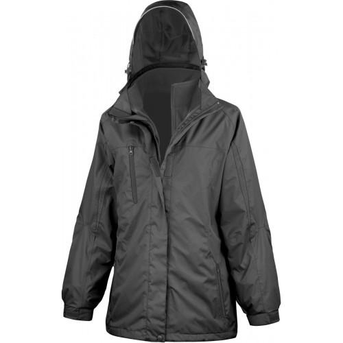 Dámská bunda 3v1 - Černá