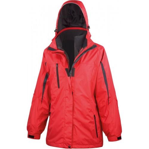 Dámská bunda 3v1 - Červená