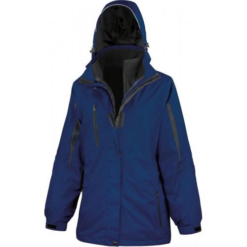Dámská bunda 3v1 - Navy modrá