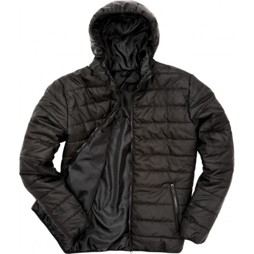 Prošívaná bunda RM - Černá