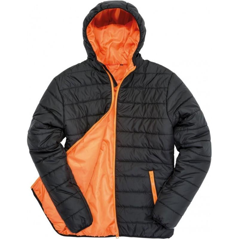 Prošívaná bunda RM - Oranžová