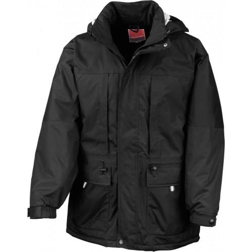 Multifunkční zimní bunda - Černá