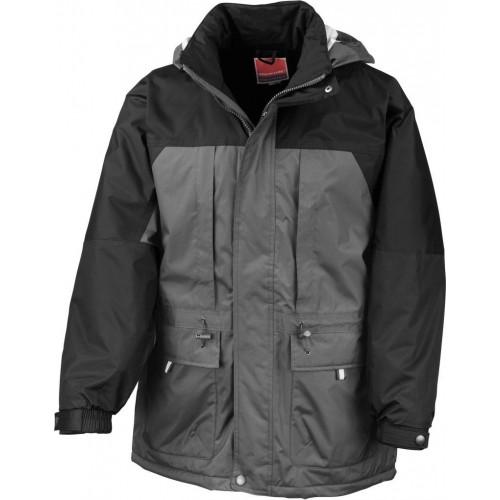 Multifunkční zimní bunda - Šedá