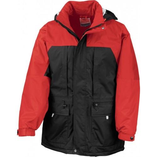 Multifunkční zimní bunda - Červená