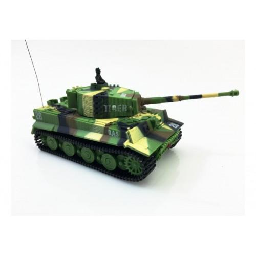 RC mini tank Tiger se zvuk