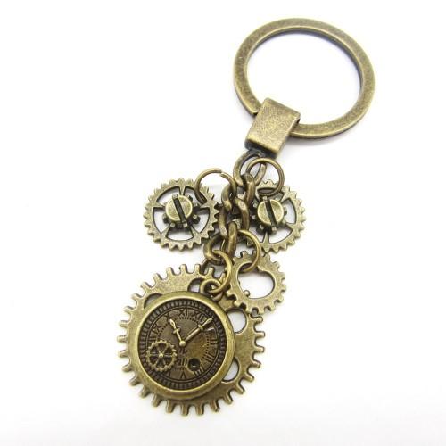 SteamPunk náhrdelník Růže