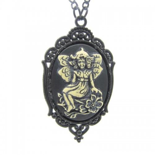 SteamPunk náhrdelník Král Magie
