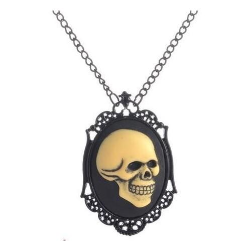 SteamPunk náhrdelník Luční víla