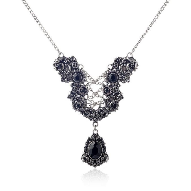 SteamPunk náhrdelník Pouta