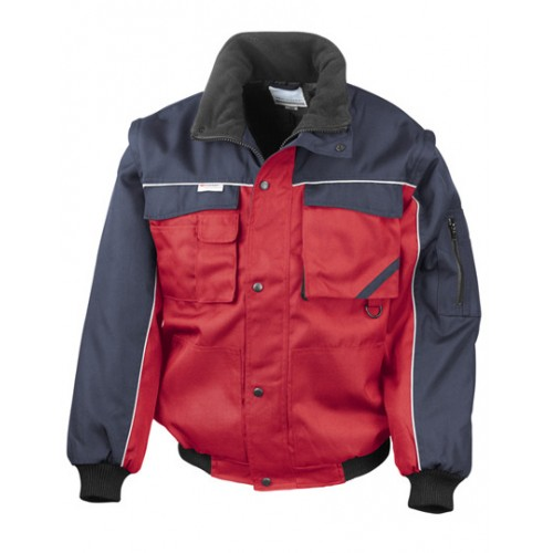 Pracovní bunda Heavy Duty - červená
