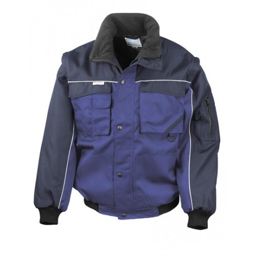 Pracovní bunda Heavy Duty - Královská modř