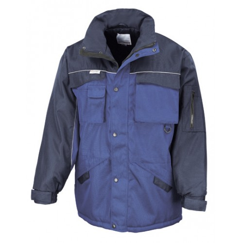 Pracovní bunda Heavy Duty Combo - Královská modř