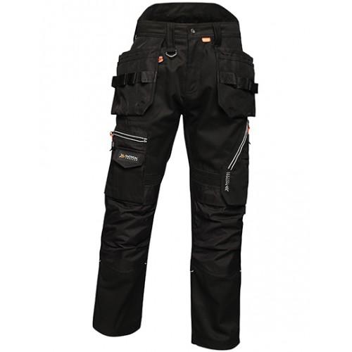 Pracovní kalhoty Execute Holster - černé