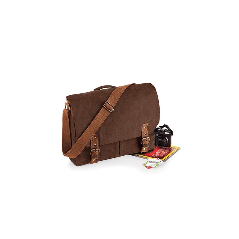 Retro Messenger taška - Písek
