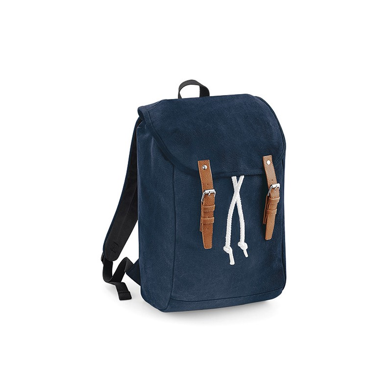 Retro turistický batoh QD - písek