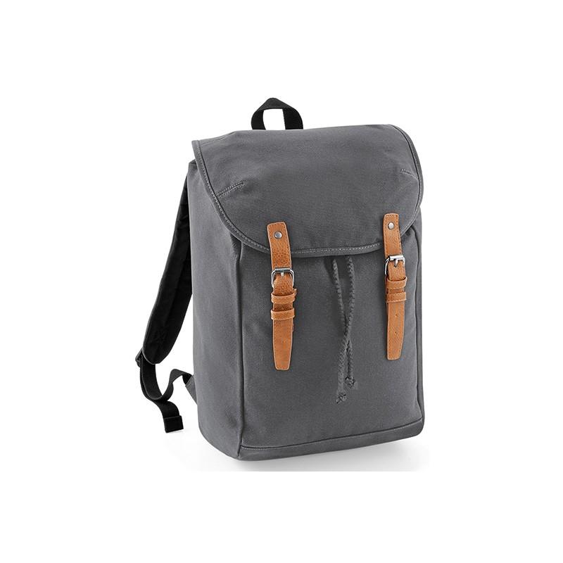 Retro turistický batoh QD - modrá