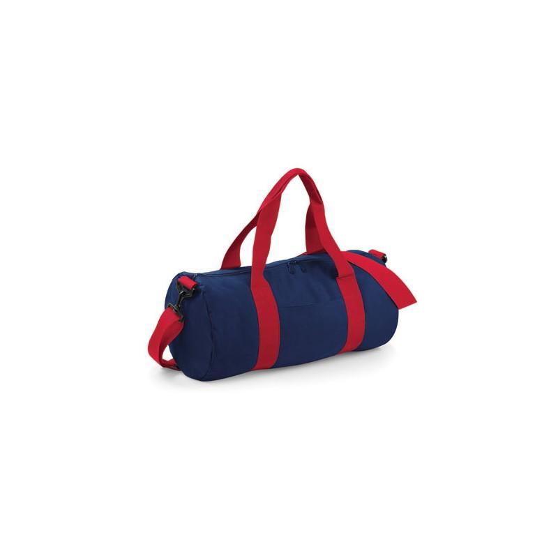 Barel taška BB - červená/bílá