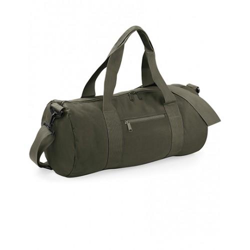 Barel taška BB - zelená/bílá
