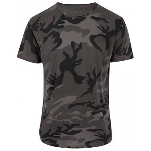 Vojenské tričko - Military pánské tmavé