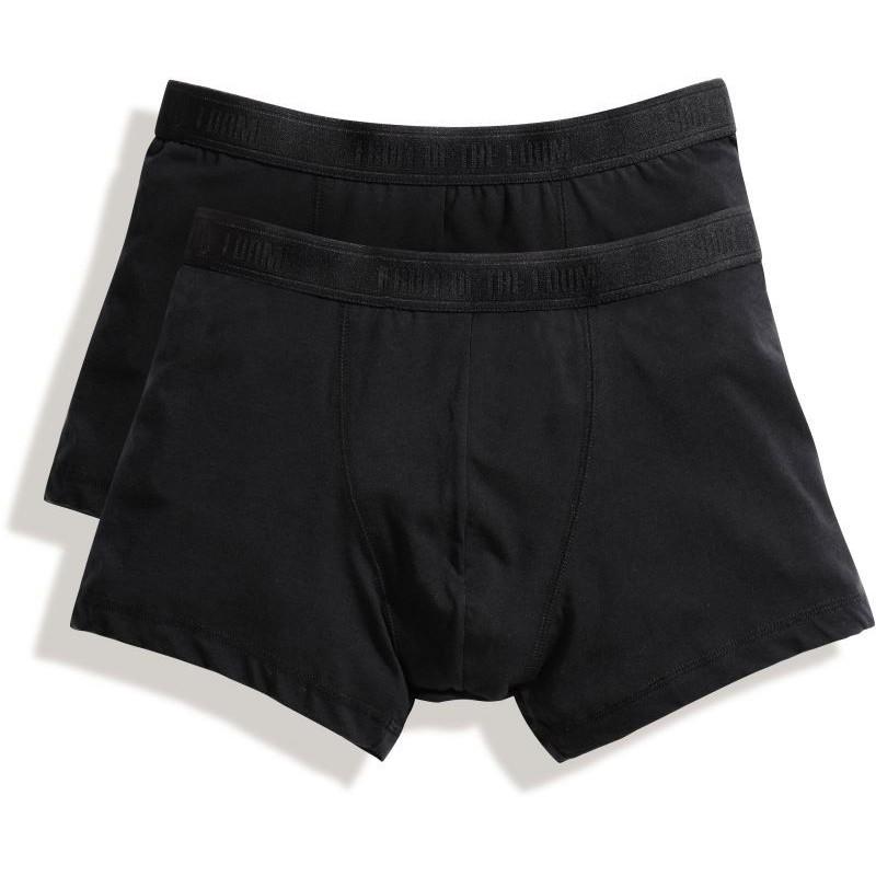 3ff23a7819d 2x pánské boxerky Classic Shorty - černá