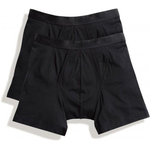2x pánské boxerky Classic Boxer - černá
