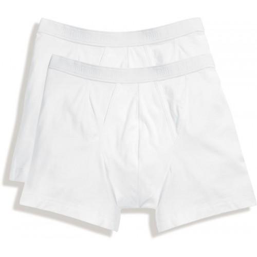 2x pánské boxerky Classic Boxer - bílá