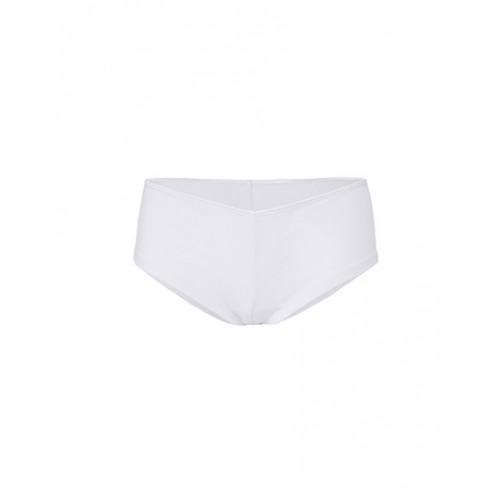 Dámské stretchové kalhotky Shortie - bílá