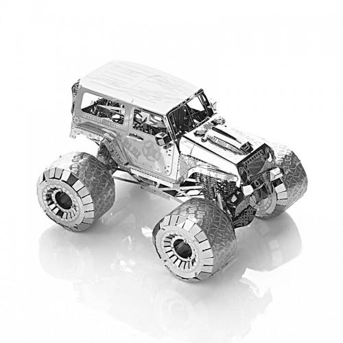 3D ocelová skládačka Off road auto