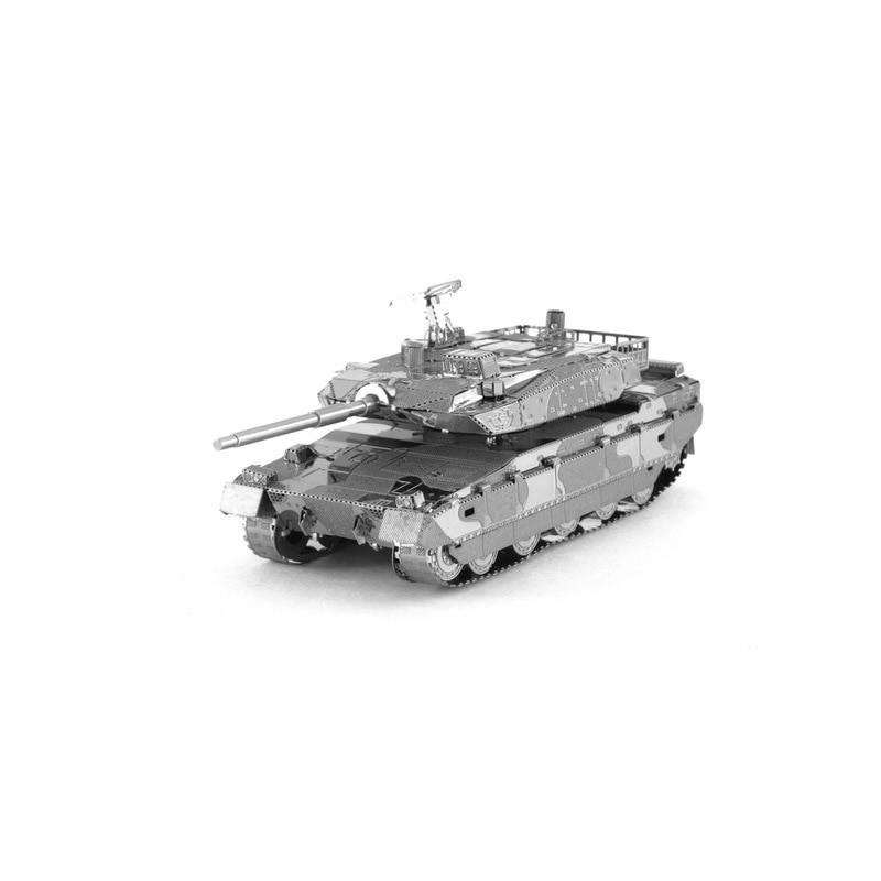 3D ocelová skládačka TANK Typ 10
