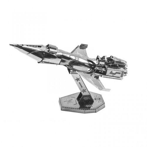 3D ocelová skládačka stíhačky Chengdu J-10B