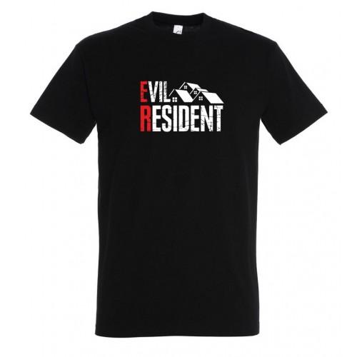 Evil Resident - Geek pánské Tričko