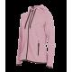 Pletená Fleece mikina dámská - Fialová