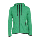 Pletená Fleece mikina dámská - Zelená