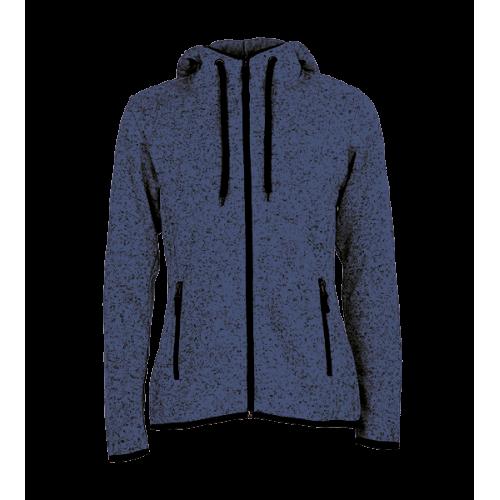 Pletená Fleece mikina dámská - Námořní modř