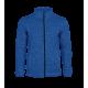 Pletená fleece mikina pánská - Modrá