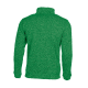 Pletená fleece mikina pánská - Zelená