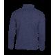 Pletená fleece mikina pánská - Námořní modř