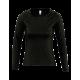 Tričko dámské Long classic AF - Černé