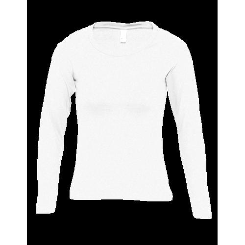 Tričko dámské Long classic AF - Bílá