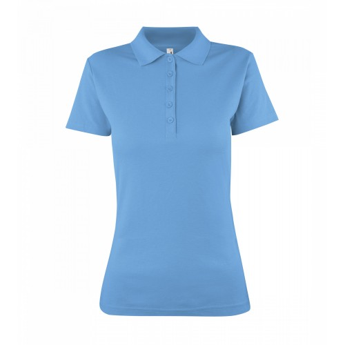 Polokošile dámská IN AF - Azur Modrá