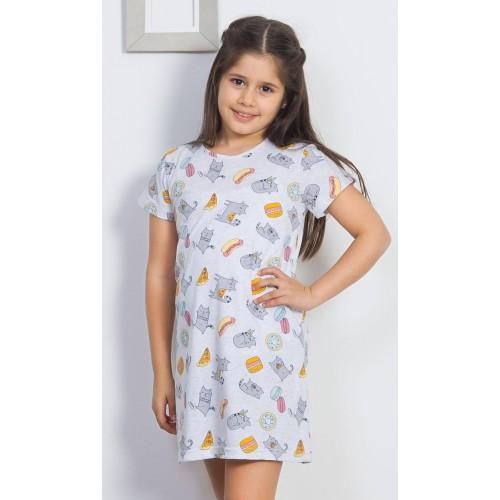 Dětská noční košile Mlsná kočka
