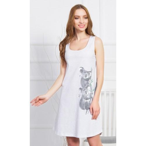 Dámská noční košile na ramínka Koaly